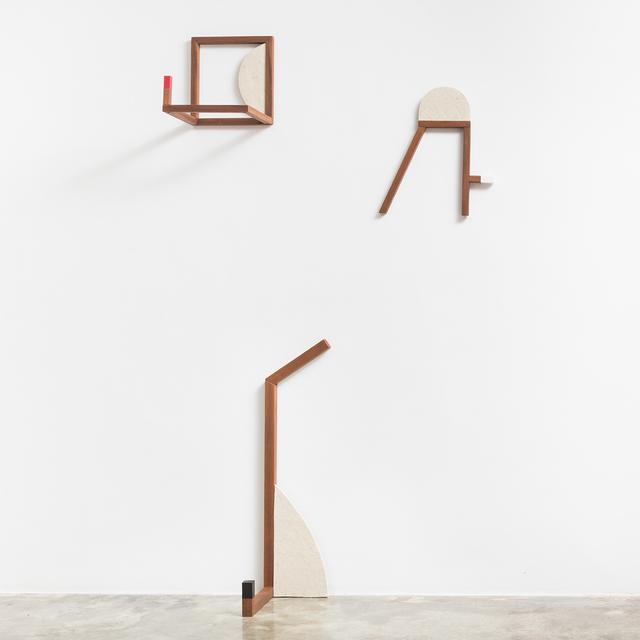 , 'Esqueletos 1, 2 e 3 (triptych),' 2017, Carbono Galeria