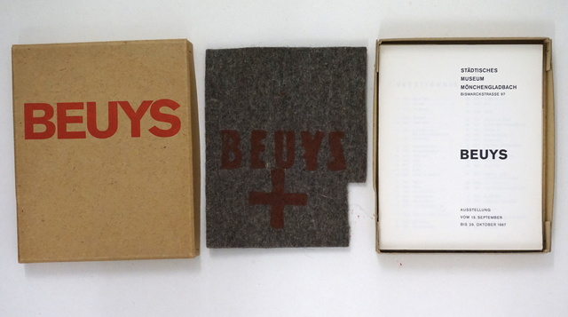 Joseph Beuys, 'Catalogue Museum Mönchengladbach, 1967', 1967, HUNDERTMARKartFAIR