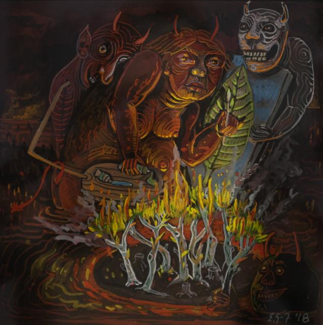Eleanor Spiess-Ferris, 'Artist in Hell Series: From Memory II', 2018, Hofheimer Gallery