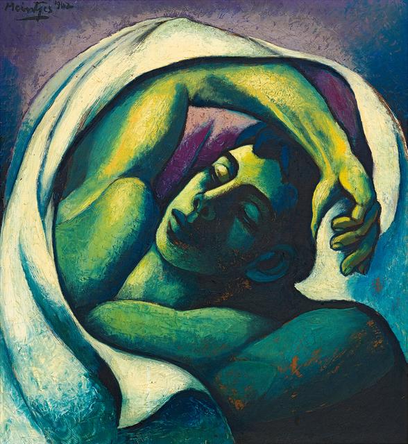 Johannes Meintjes, 'Sleeping Young Man', 1962, Strauss & Co