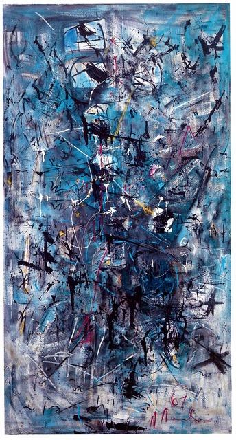 , 'Zeichen im Raum ,' 1961, Mario Mauroner Contemporary Art Salzburg-Vienna