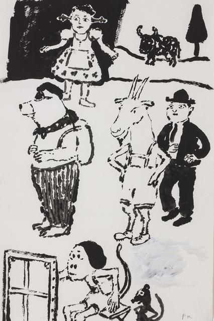 , 'The Visitors,' 1983, Marlborough London