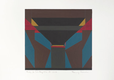 Fanny Sanin, 'Study for Painting Nº 2 ', 2010, Durban Segnini Gallery