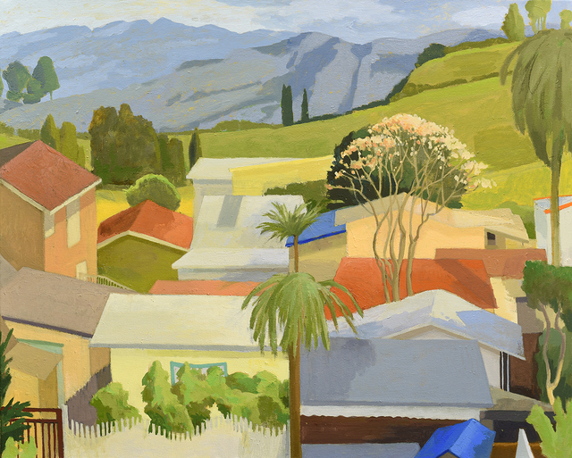 , 'Bess's Roofs,' 2014, Paul Thiebaud Gallery