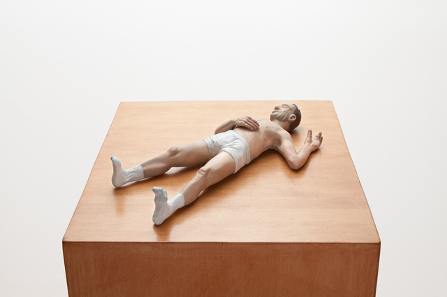 , 'New Realistic Figures (Sleeping): Gilles,' 2009, Bortolami