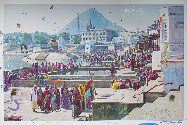 , 'Pushkar Lake,' 2015, BLANK SPACE