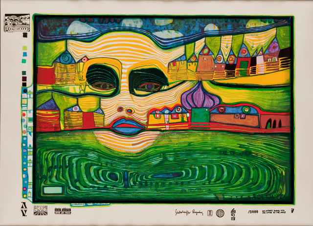 , 'Irinaland Over the Balkans,' 1971-1972, Pucker Gallery