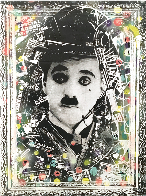 , 'Charlie Chaplin,' 2016, The McLoughlin Gallery