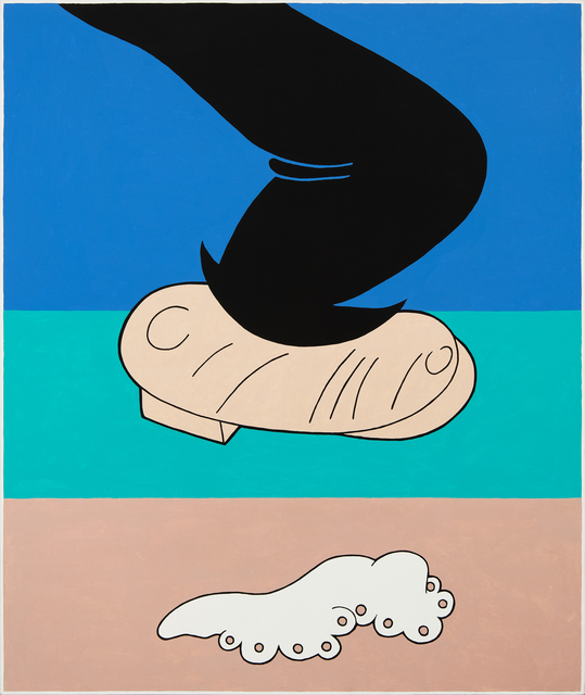 , 'Bumstead's Foot,' 1991, Hollis Taggart