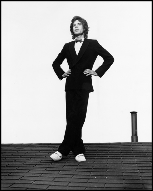, 'Mick Jagger, Long View Farm, Massachusetts,' 1981, Atlas Gallery