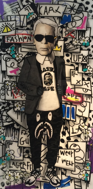 Flore x The Producer BDB, 'Karl Lagerfeld', 2015, Mouche Gallery