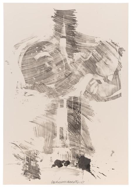 Robert Rauschenberg, 'Moon Rose (Stoned Moon)', 1969, Print, Lithograph, San Francisco Museum of Modern Art (SFMOMA)