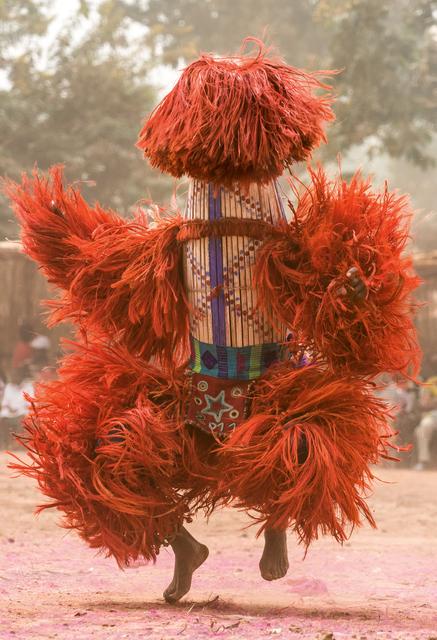 , 'Raffia Harvest Mask, Burkina Faso,' 2014, THK Gallery