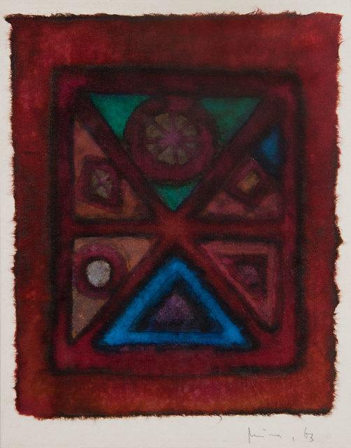 , 'Untitled,' 1963, Galeria Frente