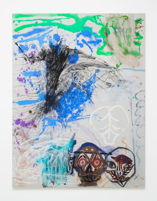 , 'Double Overhead,' 2018, Magenta Plains