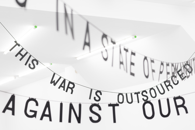 , 'This is a War,' 2017, Rodriguez Gallery