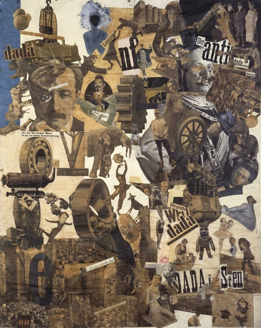Hannah Höch, 'Cut with the Dada Kitchen Knife through the Last Weimar Beer-Belly Cultural Epoch in Germany,' 1919, ARS/Art Resource