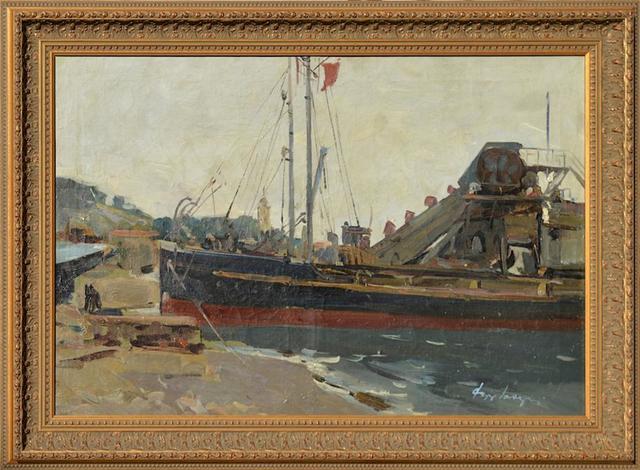 Fedor Zakharov, 'In Yalta Harbour', 1955, Gallery 901