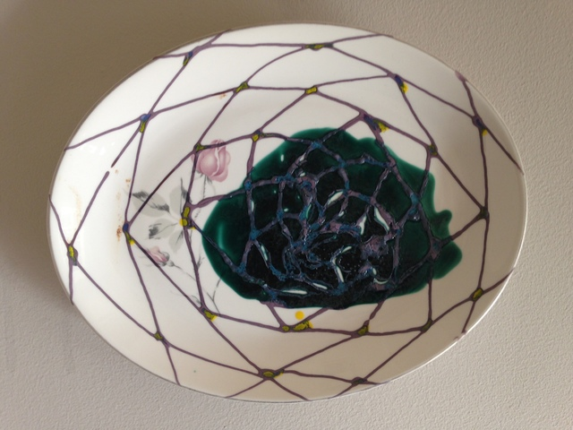 Robert Ortbal, 'Pollination Series (Collaborative Plate with Matthew Matsuoka)', 2015, JAYJAY