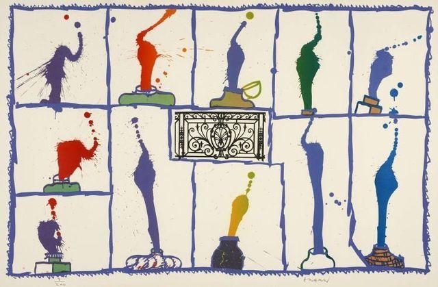 Pierre Alechinsky, 'Ink', 1989, Kunzt Gallery