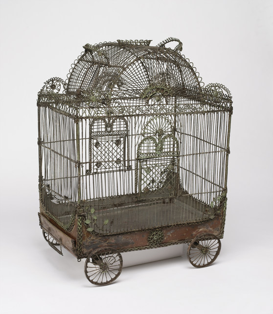 , 'Bird cage in the form of a circus wagon,' 18th century, Cooper Hewitt, Smithsonian Design Museum