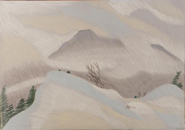 , 'Snowstorm,' , Keene Arts