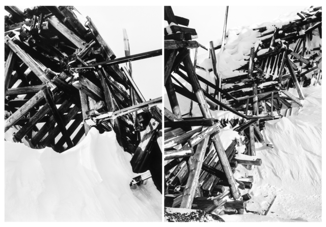 Darren Almond, 'Minus 60,000', 2006, Photography, Diptych comprised of two silver gelatin prints, RAW Editions