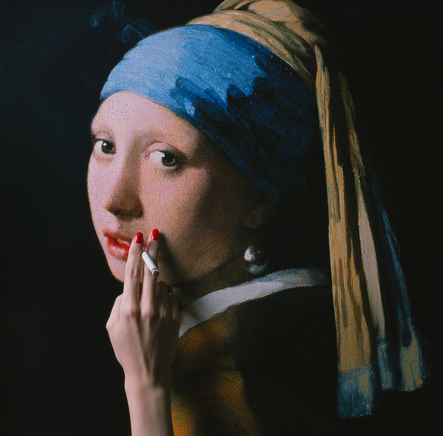 , 'The Girl with the Pearl Earring,' ca. 2018, Samuel Lynne Galleries