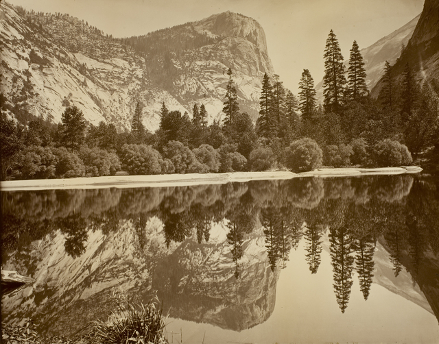 , 'Mirror Lake and Reflections,' ca. 1872, George Eastman Museum