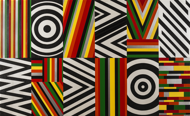 , 'Untitled (Target, Ripples and Zig Zag),' 2016, Ronald Feldman Fine Arts