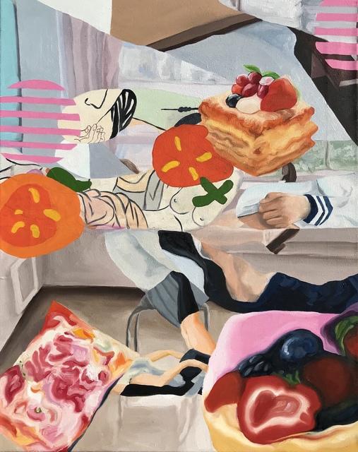 , 'Holding you like a giant peach,' 2016, J. Yuan & Associates