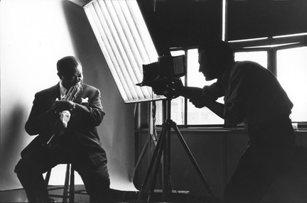 , 'Louis Armstrong and Bert Stern,' 1958, Staley-Wise Gallery