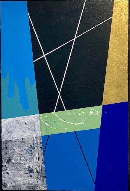 Cathleen Hughes, 'Untitled 7', 2021, Painting, Acrylic on canvas, InLiquid