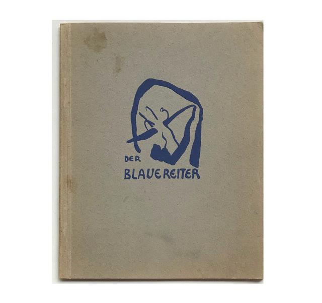 "Andy Warhol, '""The Blue Rider (Der Blaue Reiter)"", 1911-12, Exhibition Catalogue, Cover by Kandinsky, Published by Hans Goltz Munich, RARE', 1911-12, VINCE fine arts/ephemera"