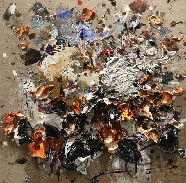 , 'OCHER WHITE,' 2018, Aurora Vigil-Escalera Art Gallery