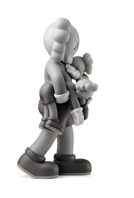 KAWS, 'KAWS Clean Slate Companion (KAWS Grey Clean Slate)', 2018, Sculpture, Vinyl Paint Cast Resin, Lot 180