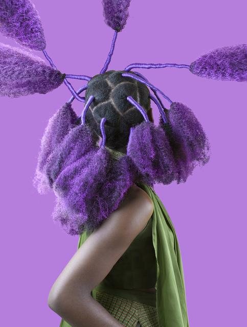 , 'Purple Kinky Calabar,' 2017, Catherine Edelman Gallery