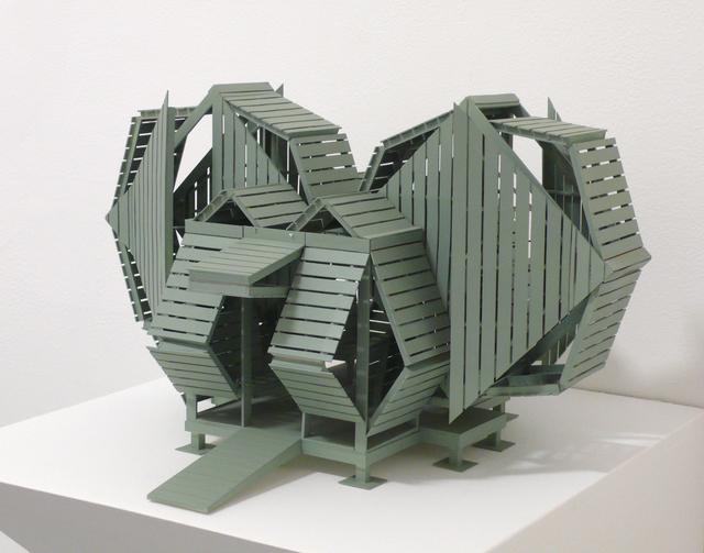 Michael Jantzen, '4-Square Pavilion (Maquette)', 2014, Bruno David Gallery