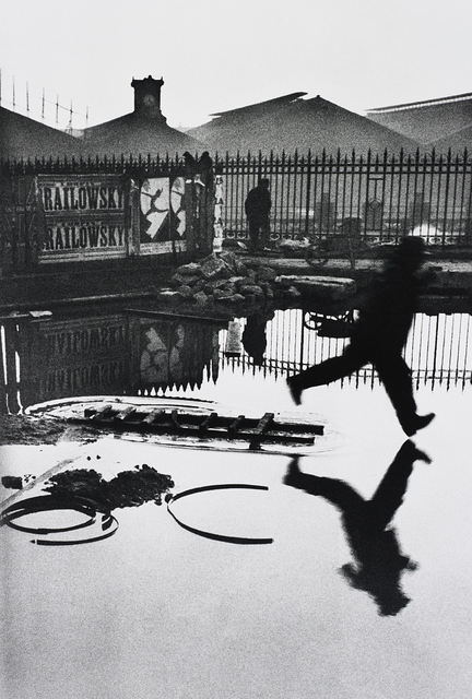 Henri Cartier-Bresson, 'Behind the Gare Saint Lazare', 1932-printed later, Phillips