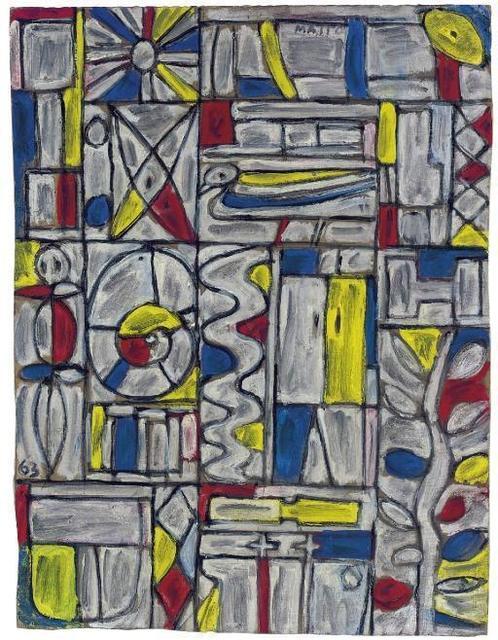 , 'Constructivo en blanco,' 1963, Galería de las Misiones