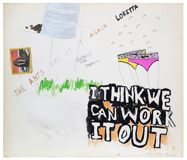 , 'Untitled (I Think We Can Work It Out),' ca. 1970, Pavel Zoubok Gallery