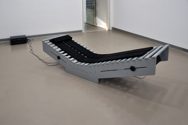 , 'SOUND CHAIR (TON-LIEGE, TonRaumSkulptur),' , Georg Kargl Fine Arts