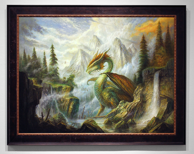 , 'The Dragon Spring,' 2014, Jonathan LeVine Projects