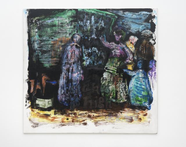 , 'der marktschreier,' 2017, PPC Philipp Pflug Contemporary