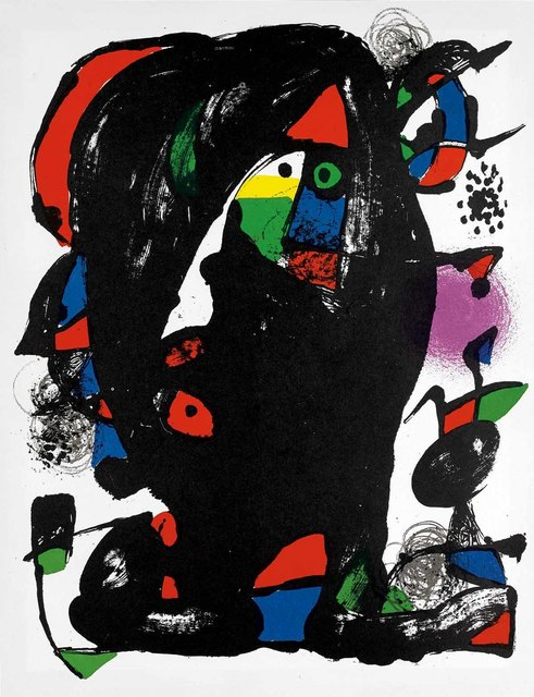 Joan Miró, 'Untitled (Lithographe IV, M.1259)', 1981, Martin Lawrence Galleries