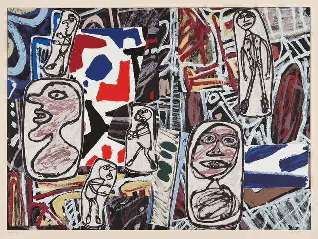 Jean Dubuffet, 'Faits mémorables I (Memorable Events I)', 1978, Phillips