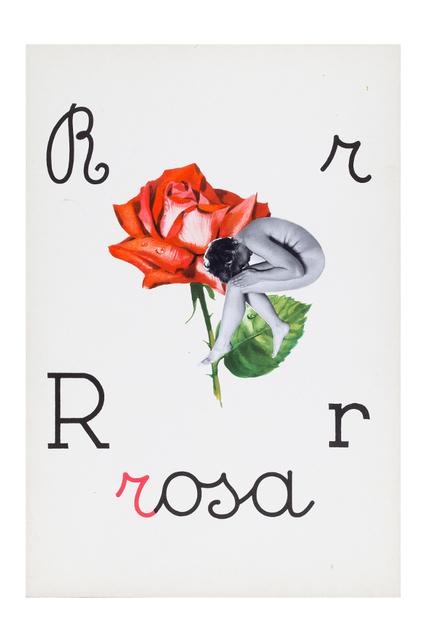 , 'Alfabetiere pop, R di rosa, ,' 1976, Tiziana Di Caro
