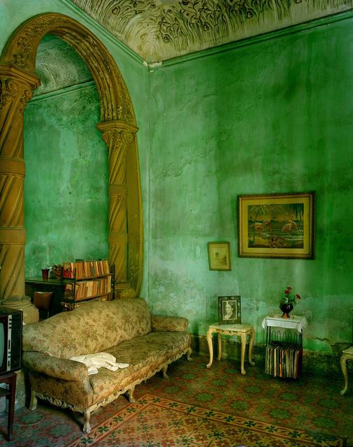, 'Green Interior with Arch, Havana,' 2002, Holden Luntz Gallery