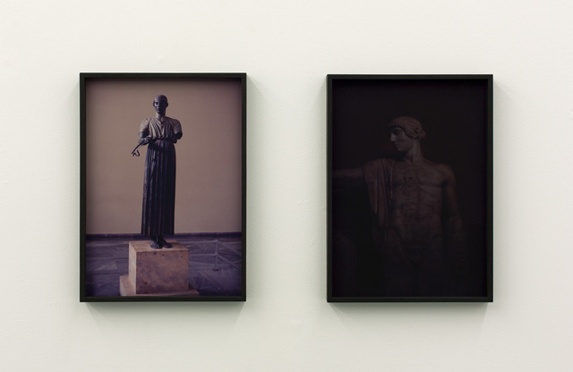 ", '""Untitled (Statue) #2"" and ""Untitled (Statue) #1"",' 2015, BolteLang"