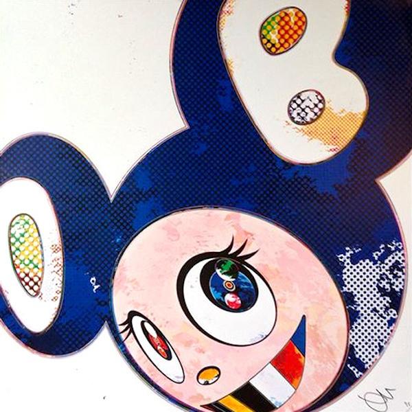 Takashi Murakami, 'And Then x 6 (Marine Blue: The Superflat Method)', 2013, Dope! Gallery